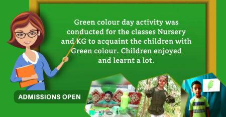 GREEN COLOUR DAY